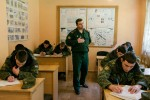 Abkhazia, Sukhum, 26/01/2016. A lesson at the Military Academy in Sukhum.